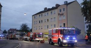 Fünf Verletzte bei Brand in Asylantenheim in Oberhausen