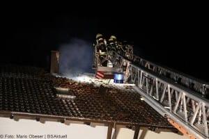 Brand Günzburg Dachstuhlbrand Blitzschlag 06062018 11