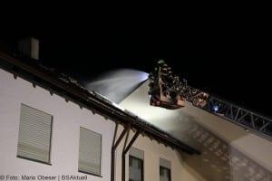Brand Günzburg Dachstuhlbrand Blitzschlag 06062018 12
