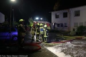 Brand Günzburg Dachstuhlbrand Blitzschlag 06062018 17