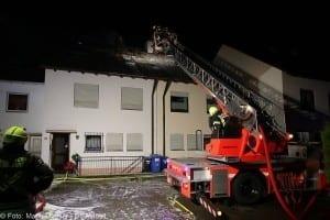 Brand Günzburg Dachstuhlbrand Blitzschlag 06062018 18