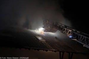 Brand Günzburg Dachstuhlbrand Blitzschlag 06062018 24