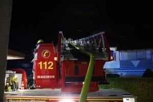 Brand Günzburg Dachstuhlbrand Blitzschlag 06062018 3