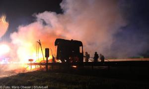 Brand Lkw-Gespann A8 Zusmarshausen-Burgau 12062018 16