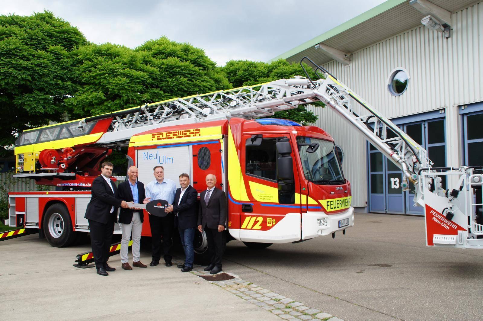 Drehleiter Feuerwehr Neu-Ulm