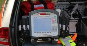EKG Notarztfahrzeug