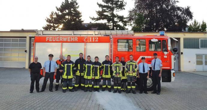 Feuerwehr Günzburg Leistungsabzeichen Juni 2018 1