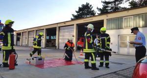 Feuerwehr Günzburg Leistungsabzeichen Juni 2018 2