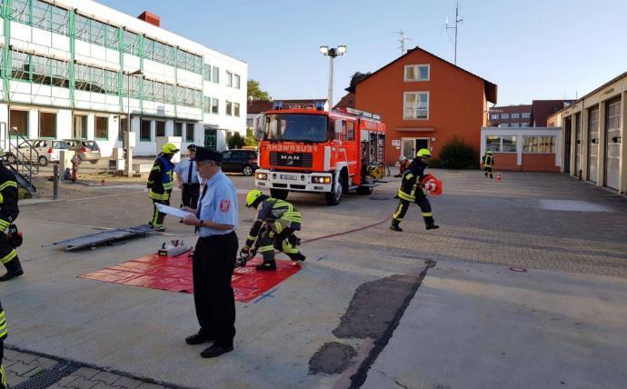 Feuerwehr Günzburg Leistungsabzeichen Juni 2018 3