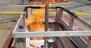 Gasaustritt simuliert Titel BSAktuell