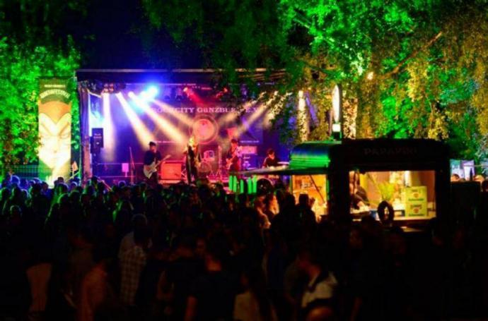 Guntiafest Günzburg Bühne
