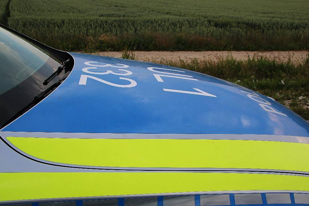 Polizeifahrzeug Blau BW