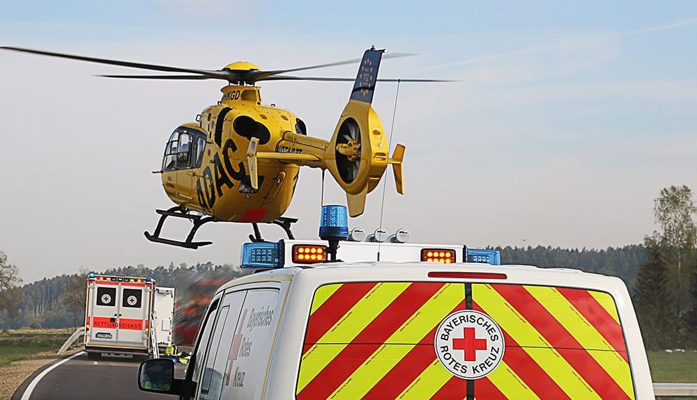 Rettungsdienst Hubschrauber Rettungshubschrauber