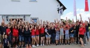 25 Jahre Stadtkapelle Günzburg Einzug Musikerheim