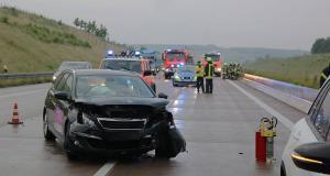 Unfall A8 Guenzburg-Burgau 09062018 1 Obeser Mario