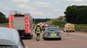 Unfall A8 - Guenzburg-Burgau 17062018 5