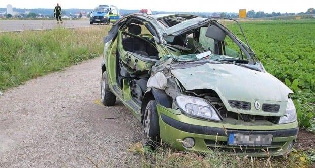 Unfall B492 bei Medlingen 06062018 3