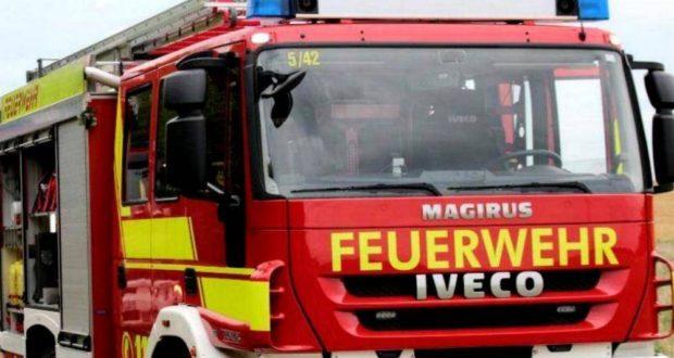 Feuerwehrfahrzeug Ulm