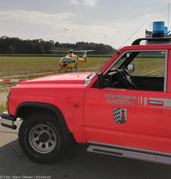 Unfall Bubesheim Grosskoetz Traktor Pkw 11072018 10