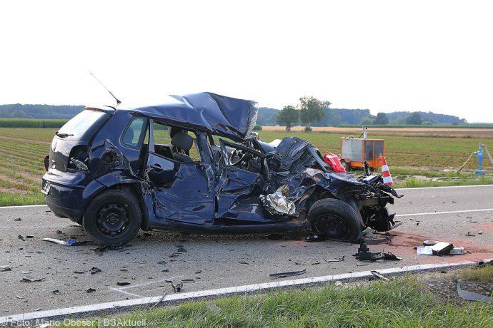 Unfall Bubesheim Grosskoetz Traktor Pkw 11072018 3
