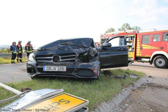 Unfall Umgehung Jettingen ST2025 – GZ16 10072018 11