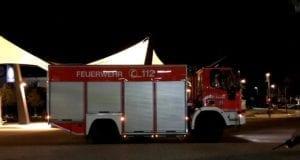 Feuerwehr Günzburg Bahnhof Einsatz Rollstuhlfahrer