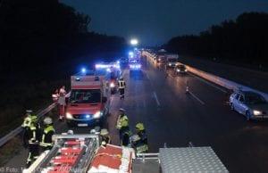 Unfall A8 Zusmarshausen-Burgau 12082018 19