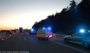 Unfall A8 Zusmarshausen-Burgau 12082018 5