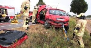 Unfall B16 Hochwang-Kleinkötz 13082018 11