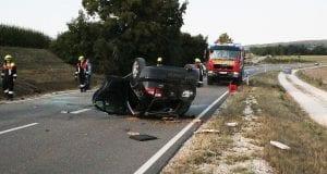 Unfall St2028 Offingen-Rettenbach 05082018 1