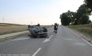 Unfall St2028 Offingen-Rettenbach 05082018 2