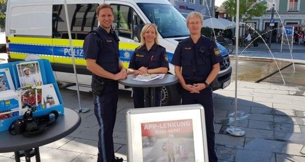 Autobahnpolizei Memmingen Praeventionsveranstaltung