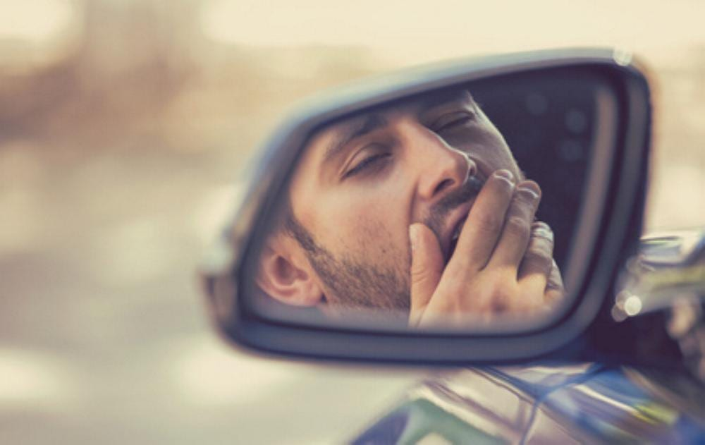 Autofahrer Müde