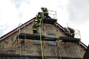 Dachstuhlbrand Vöhringen Ulmer Strasse 28092018 12
