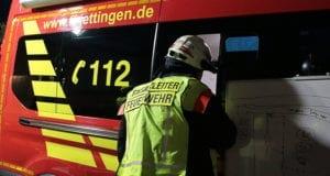 Einsatzleiter Feuerwehr Jettingen