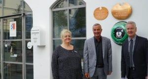 Stadtbücherei Günzburg Defibrillator