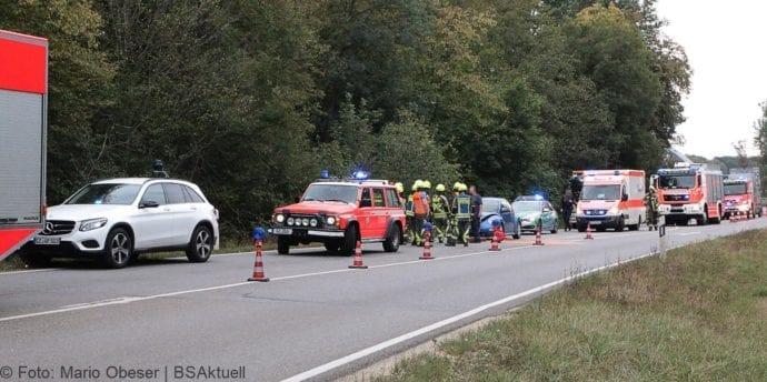 Unfall B16 Günzburg-Gundelfingen 31082018 3