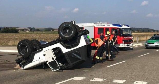 Unfall Medlingen am 05.09.2018