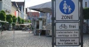 Günzburg Winterregelung_Marktplatz