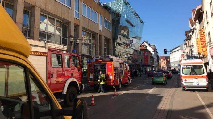 Heidenheim Feuerwehreinsatz In Einer Sparkassenfilliale In