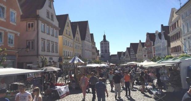 Markt in Günzburg