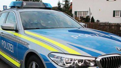 Polizeifahrzeug BMW