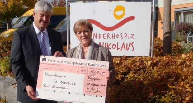 Polizeipräsidium Schwaben Süd West Spende kinderhospiz