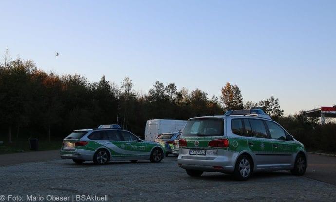 Raststätte Leipheim Personensuche nach Flucht 14102018 4