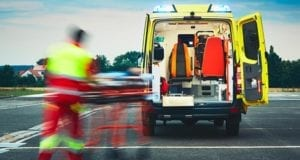 Rettungswagen Sanitäter
