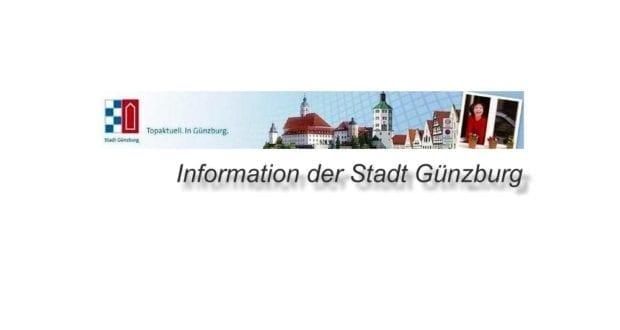 Stadt Günzburg informiert