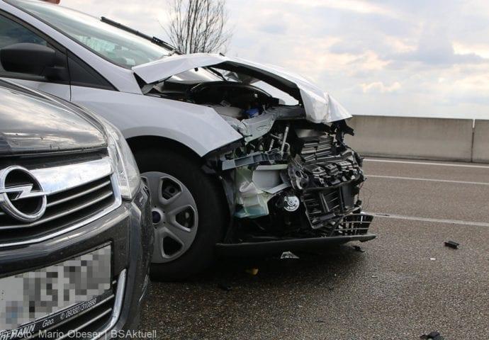 Unfall A8 nache AK Elchingen 07102018 2