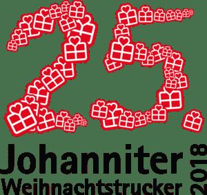 25-jahre Johanniter Weihnachtstrucker 2018