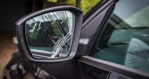 Außenspiegel Unfall