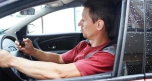 Autofahrer Handy